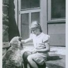 Elsa Brandstrom when she was young while playing the dog. - 8x10 photo
