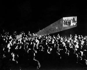 A movie theater - 8x10 photo
