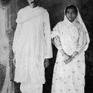Mahatma Gandhi and Kasturba Gandhi - 8x10 photo
