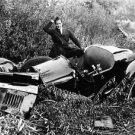 car wreck - 8x10 photo