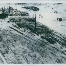 1945 Nagasaki as leveled by atomic bombs.Nagasaki Road lies amid ashes of the I