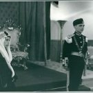 Guard and woman standing.  - 8x10 photo