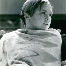 Deborah Elizabeth Meyer covering her self with towel, sitting.  - 8x10 photo