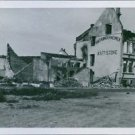 War damages due to bombing in Steinkjer 1940Restore the soldiers' favorite cafe
