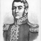 Portrait of Jose de San Martin. - 8x10 photo