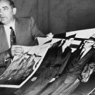 The Army–McCarthy hearings - man holding posters. - 8x10 photo