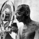 Mahatma Gandhi making a speech - 8x10 photo