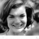 Close up of Jacqueline Kennedy Onassis, smiling. - 8x10 photo