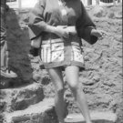 Anita Ekberg stepping down. - 8x10 photo