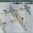 Gliders formation.1944 - 8x10 photo
