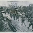 U.S. Infantrymen pierce Siegfried Line. - 8x10 photo
