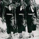 Italian troops march in Greece - 8x10 photo