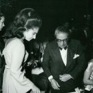 Maria Callas at an event with Onassis. - 8x10 photo