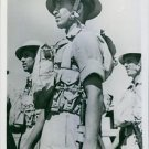1940Indian troops in the desert on the Kenya, ready for action in Kenya, Afric