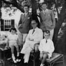 """Robert Francis """"Bobby"""" Kennedy in a family portrait. - 8x10 photo"""
