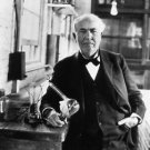 Portrait of Thomas Edison - 8x10 photo