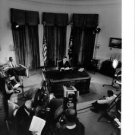 John F. Kennedy in a press conference. - 8x10 photo