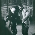 Jean Gabin and Jean Paul Belmondo having fun.  - 8x10 photo