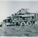 British A9 tank captured by the Italians during the North African Ca- 8x10 photo