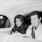 Elizabeth Taylor and Eddie Fisher - 8x10 photo