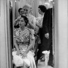 A woman pressing Marie José's head. - 8x10 photo