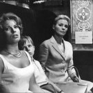 Gunnel Lindblom, Jorgen Lindstrom and Ingrid Thulin in The Silence. - 8x10 photo