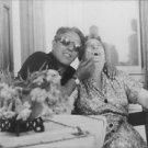 Aristotle Onassis with lady. - 8x10 photo