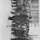 Winston Churchill walking ith his friends. - 8x10 photo