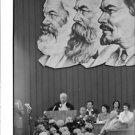 Nikita Khrushchev speaking. - 8x10 photo