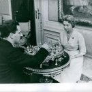 Man and woman playing chess.  - 8x10 photo