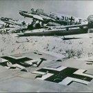 German planes wrecked n Egypt.  1943 - 8x10 photo