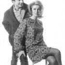 Catherine Deneuve and David Bailey posing. - 8x10 photo
