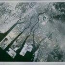 Atomic Bomb's Target, showing a map at Hiroshima.1945 - 8x10 photo