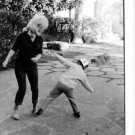 Gina Lollobrigida playing with her son. - 8x10 photo