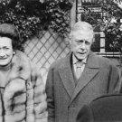 The Duke and Duchess of Windsor smiling. - 8x10 photo