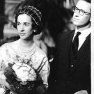 Queen Fabiola of Belgium holding flowers. - 8x10 photo