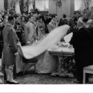 Fabiola and Baudouin at her wedding day. - 8x10 photo