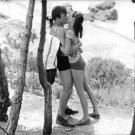 Audrey Hepburn and Albert Finney kissing.  - 8x10 photo