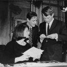 Robert F. Kennedy reading a paper.  - 8x10 photo