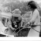 Jacqueline Kennedy with woman and baby. - 8x10 photo