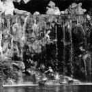 Audrey Hepburn with William Holden under the waterfall. - 8x10 photo