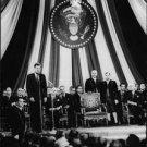 John F. Kennedy giving a speech. - 8x10 photo