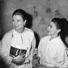 Grace Kelly and Margot Fonteyn, smiling.  - 8x10 photo