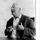 Jean Gabin smoking and talking.  - 8x10 photo
