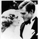 Robert Redford and Mia Farrow. - 8x10 photo