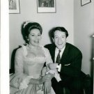 Philippine de Rothschild and her husband Jacques Noël Sereys laughing. - 8x10 ph