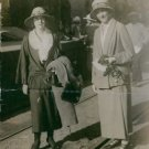 Elsa Brandstrom photographed with woman.  - 8x10 photo