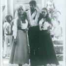 "Brigitte Bardot, Jeanne Moreau and George Hamilton in a movie scene ""Viva Maria"""