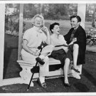Doris Day visits Judy Garland and James Mason at the set of A Star is Born. - 8x