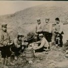 1905 - Japanese Army Field Kitchen during the Russo-Japanese War. - 8x10 photo